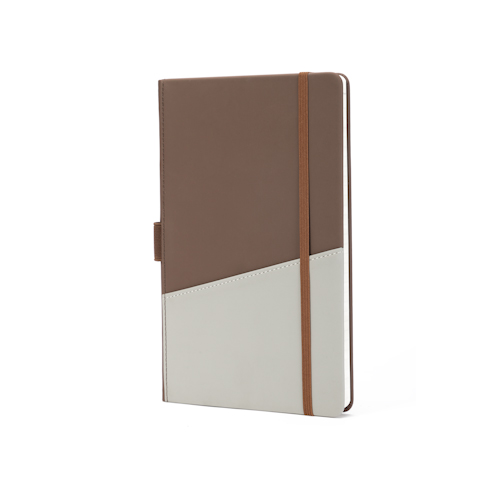 ustom hardcover notebook with pocket and elastic band