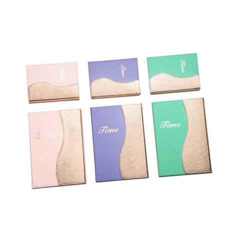 Coustom journal notebooks in different colors