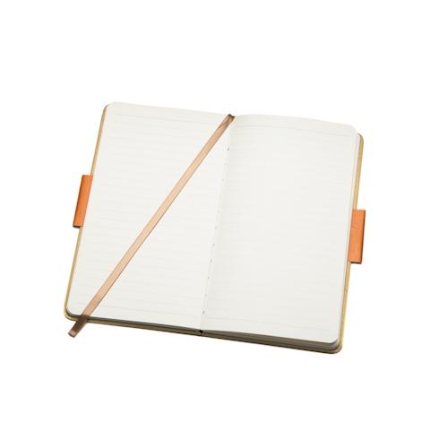 custom logo journal open with bookmark