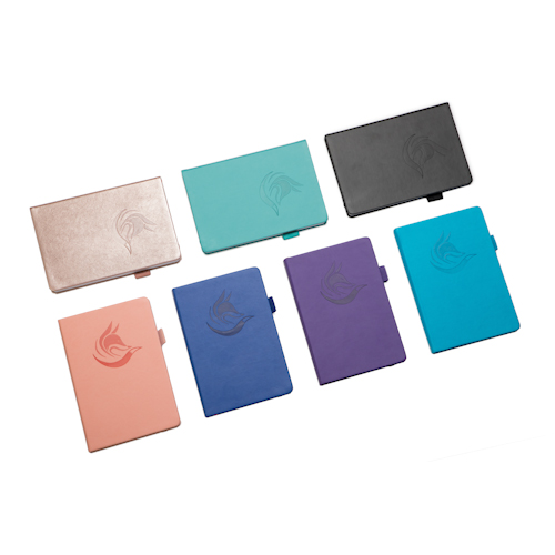 custom logo planner in different colors