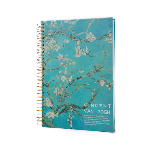 custom printed spiral notebooks