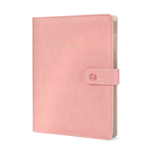 custom refillable notebook front