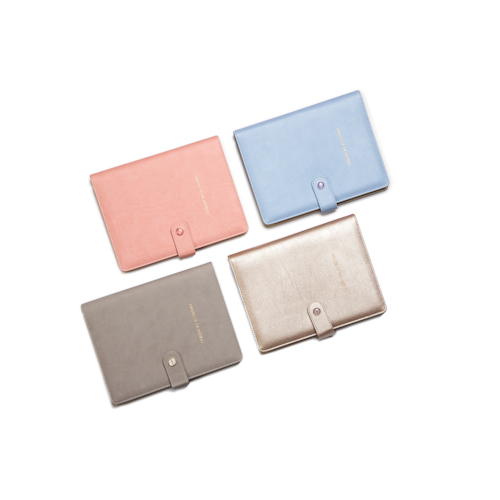 custom refillable notebook in different colors