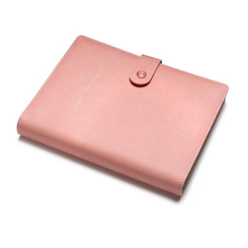 custom refillable notebook lay flat