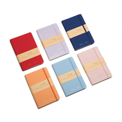 customised diary planner in different colors