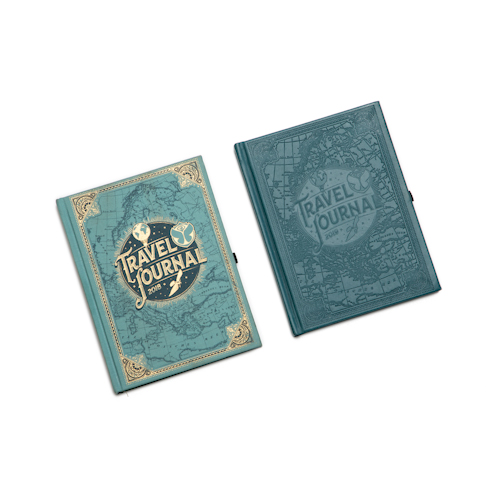 embossed journals with different cover