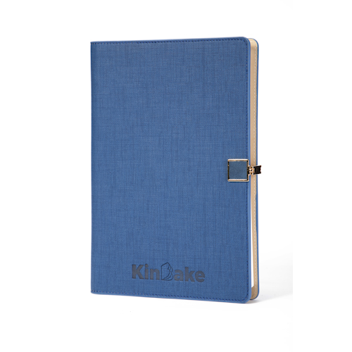 personalised refillable notebook front