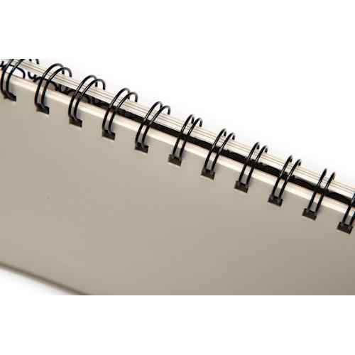 wholesale custom spiral notebooks spiral detail